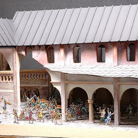 "World Heritage Site exhibition ""The Historic Town of Goslar"" - The ecclesiastical city of Goslar - Tin Figure Museum"