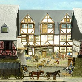 "World Heritage Site exhibition ""The Historic Town of Goslar"" - The bourgeois city of Goslar - Tin Figure Museum"
