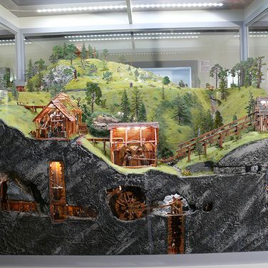 "World Heritage Site exhibition ""Upper Harz Water Regale"" - Goslar Tin Figure Museum"