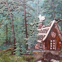 Hansel & Gretel - tin figures