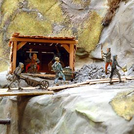 "World Heritage Site exhibition ""The Mines of Rammelsberg"" - Goslar Tin Figure Museum"